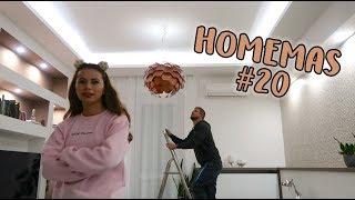 A nagy LÁMPÁS rész - HOMEMAS #20 | Viszkok Fruzsi
