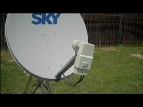 how to set up fta satellite system