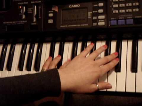 Simple Piano Piece - The Flea Waltz - Piano Lesson for beginners