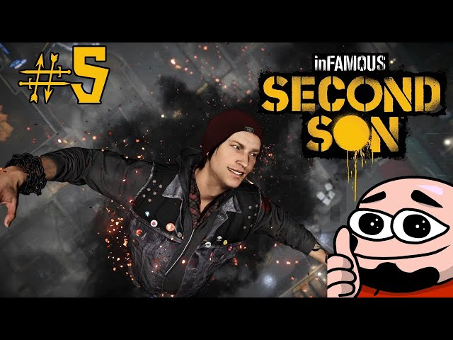 Infamous: Second Son | Part 5 | Slick Stencil Art | Two Crazy Gamers
