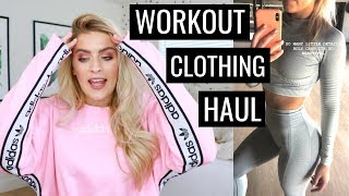 NEW WORKOUT & ATHLEISURE WEAR | Haul & Try On thumbnail