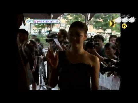 20100506 한밤의TV연예 Yuna Kim In New York