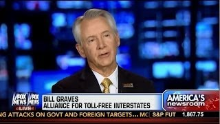 Gov. Graves on Fox Discussing Infrastructure Needs & Opposing Tolls