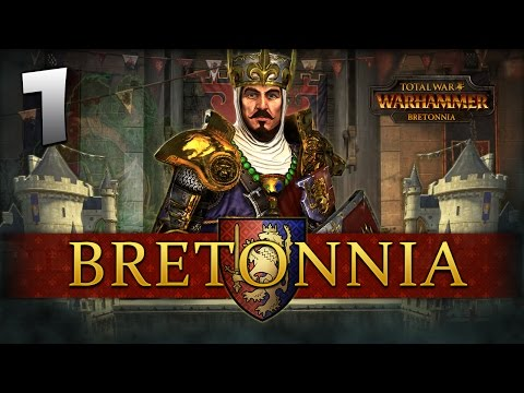 THE LION RISES! Total War: Warhammer - Bretonnia Campaign #1