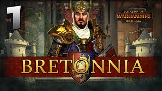 THE LION RISES! Total War: Warhammer - Bretonnia Campaign #1