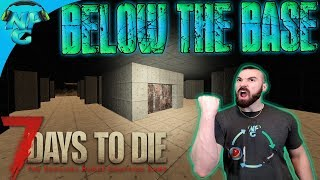 7DTD The Bunker Below the Base - Massive Reinforcements and Zombie Fortifications E73