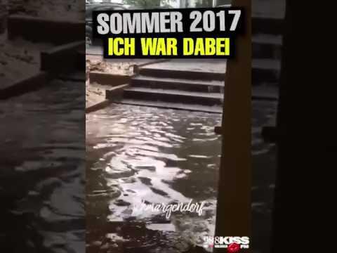 Sommer 2017 Berlin Wetter Regen