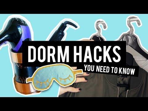 10 DIY DORM HACKS | THE SORRY GIRLS