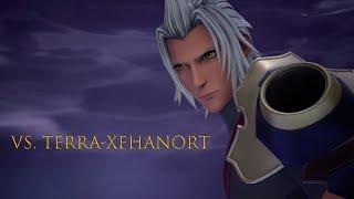 【Kingdom Hearts 3: ReMind】- vs Boss Terra-Xehanort GAMEPLAY (Japanese)【KH3】