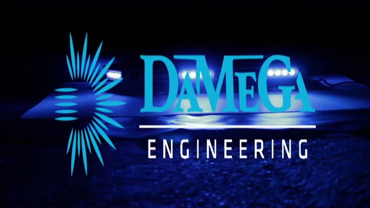 maxresdefault damega engineering enforcer dash light 2 head youtube damega light bar wiring diagram at creativeand.co