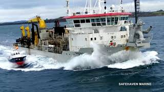 La Cornuna pilot boat Offshore in Gale & Ship boarding trials