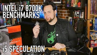 Intel i7 8700k   i5 Speculations & Winning The Silicon Lottery
