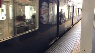 【西武新宿線】萩山駅に到着するL-Train 珍しい