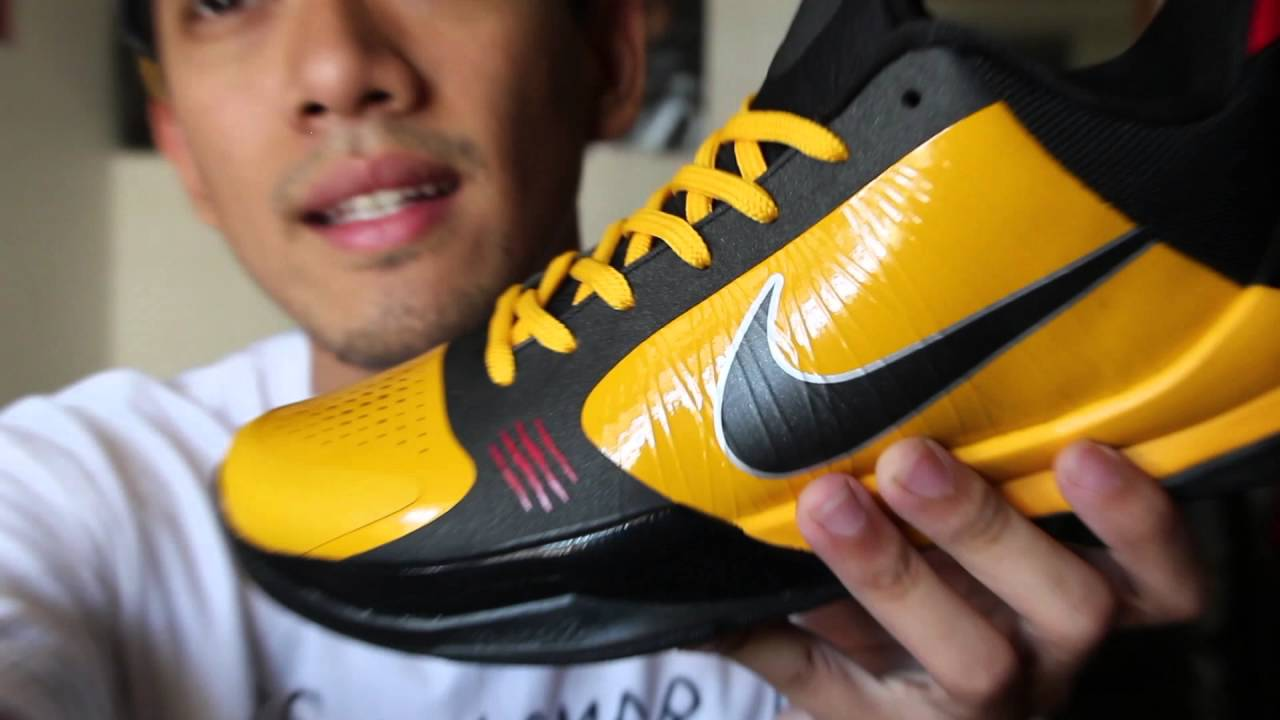 buy online 9a703 78ee7 Nike Zoom Kobe 5 Bruce Lee | Kicksologists.com