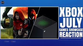 XBOX SERIES X ( XBOX SX ) - XBOX GAMES SHOWCASE JULY 2020 EVENT LIVE REACTION!