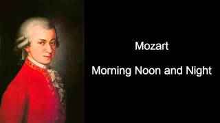 Mozart Morning Noon and Night (Mozart Effect Volumn VI)