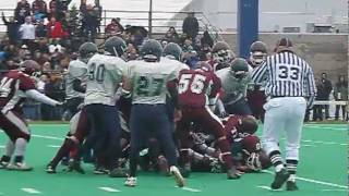 Sir Wilfrid Laurier Lancers vs Immaculata Saints NCSSAA sr. T2 football final
