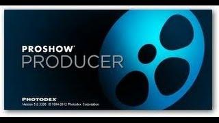 Правильная  установка Proshow Producer