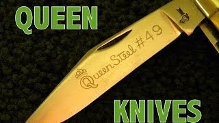 Close look at QUEEN KNIVES