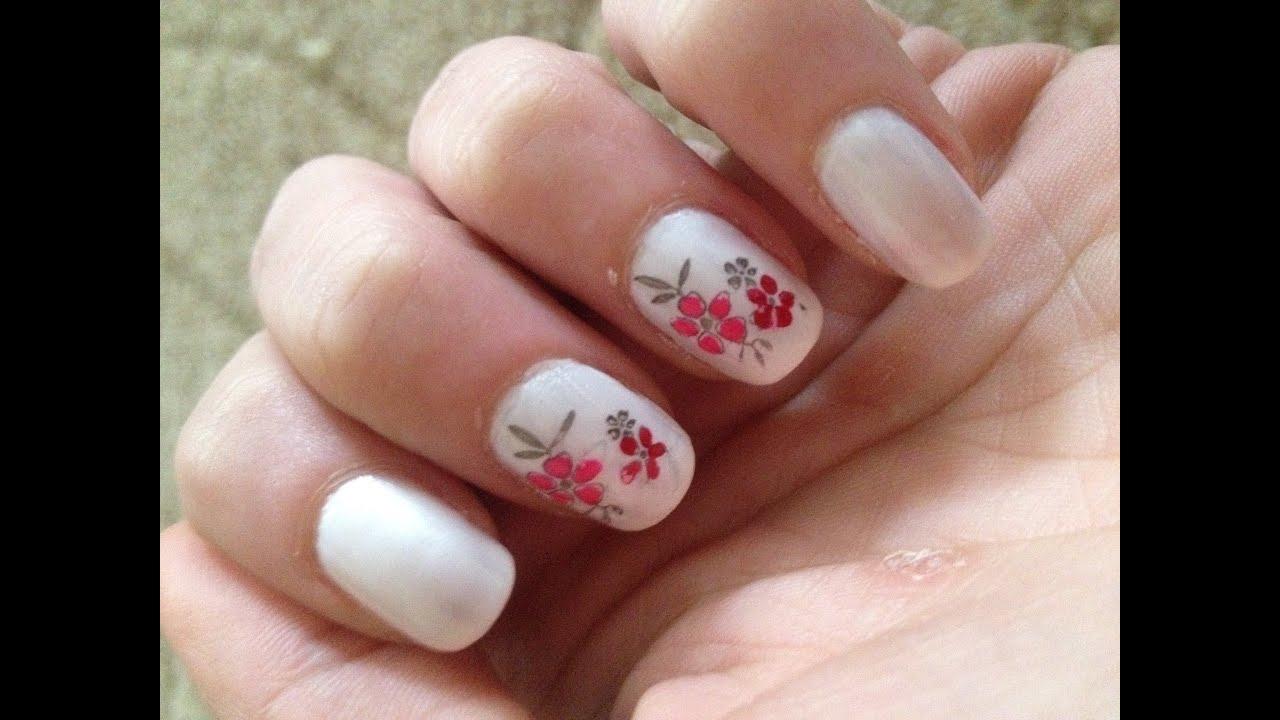 Dezentes nageldesign finest genial nails nageldesign mit for Nageldesign tutorial
