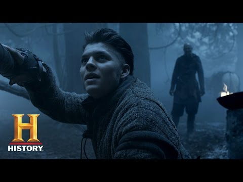 Vikings: Floki makes Ivar a Gift (Season 4, Episode 17) | History
