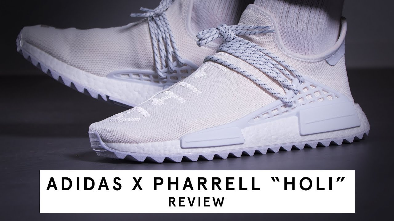 "66d2932bbc21e Adidas x Pharrell NMD HU Trail ""Holi"""