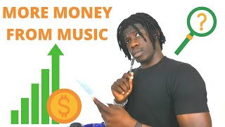 HOW TO MAKE MORE MONEY FROM MUSIC IN 2020 | MUSIC MARKETING AND MUSIC STRATEGY | Terex Dada