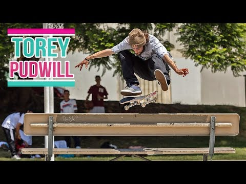 Torey Pudwill Skateboarding Part 2017