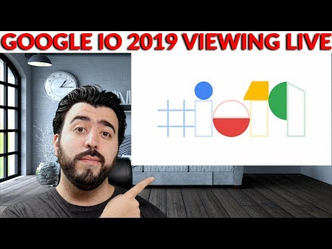 Google I/O 2019 Live Talk & Reactions - Watch Live & Ask Questions!