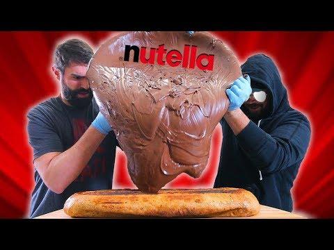 100lb Nutella Sandwich - Epic Meal Time