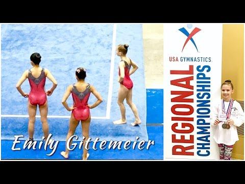 Gymnastics Regional Championships | Floor Level 8 | Emily Gittemeier 2016