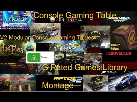 BLACKBOX GAMING SYSTEMS Console Gaming Table G Rated Games Library as of 18 March 2016