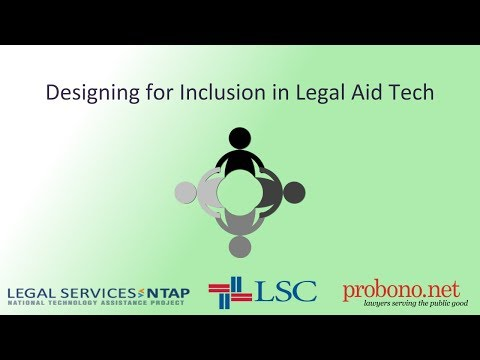 Diversity in Legal Aid Tech