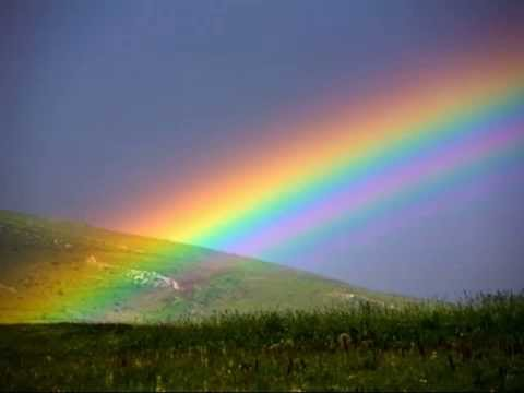 how to create rainbow light pictures