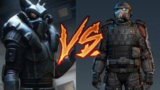 Силовая Броня VS Экзоскелет