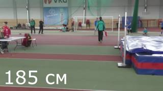 Лучшие прыжки в высоту  Дениса/Best high jumps by Deniss