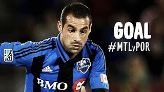 GOAL: Andres Romero rips it in with a devastating blast | Montreal Impact vs. Portland Timbers