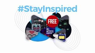 #StayInspired LIVE STREAM ANNOUNCEMENT