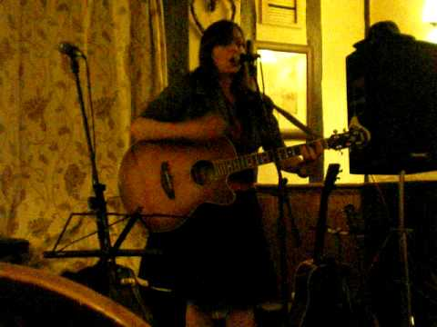Heather Mc Vey at Debenham folk club.