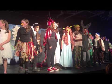Finale - Shrek The Musical Jr - Fraser Woods Montessori School 2017
