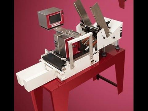SAVEMA Feeder, Conveyor Belt and Thermal Transfer Overprinter