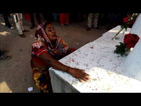 Bangladesh workers demand justice on disaster anniversary