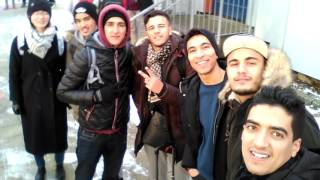 First Day | EP : 9 | اجتياز امتحان في أحد الجامعات الألمانية 😂😱