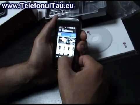 LG GT505 Hands on - www.TelefonulTau.eu -