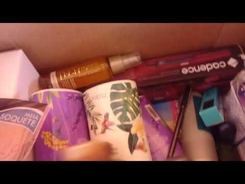 Abertura de caixa da campanha 10 + Kit de 9,99 e 1° resgate do mundo Avon.