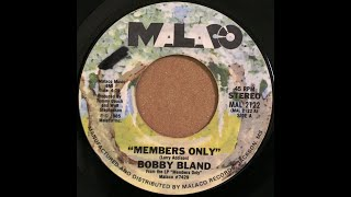 Bobby Bland - Members Only (1985 age55)