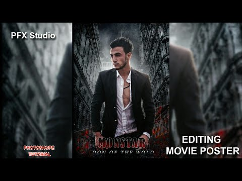 Movie Poster Design Tutorial in photoshope cc thumbnail