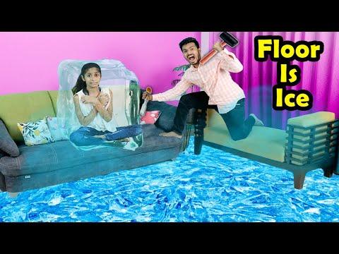 Floor Is Ice | Funny Video | Pari's Lifestyle