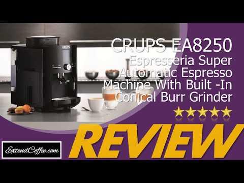 KRUPS EA8250 Espresseria Automatic Coffee Maker Review! KRUPS Espresseria ESPRESSO MACHINE REVIEW.