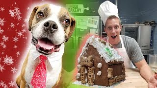 Dog eats ENTIRE gingerbread house! (Home-Cooked Vs. $1000 inspired we also try cutting soap)